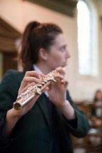 Music lesson - flute