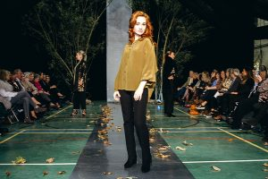Aleksandra Carlina catwalk