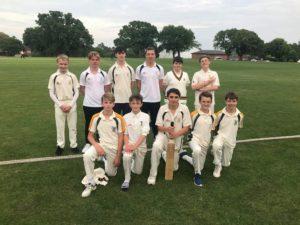 U15 Suffolk Cricket semi-final. Saint Felix v Woodbridge
