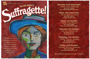 'The Little Cabaret of Suffragette!' - 2.10.18