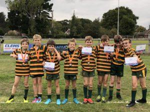 North Suffolk Games U11 Tag Rugby tournament - 4.10.18