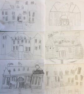 Clough House drawings